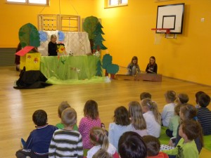 Predstava učencev 5.razreda