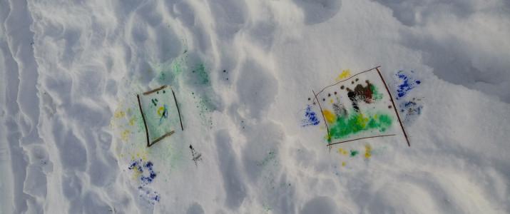 Slikanje na snegu